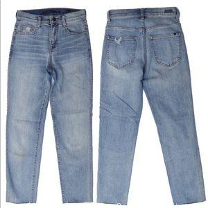 SP Black Label Raw Hem Skinny Jeans